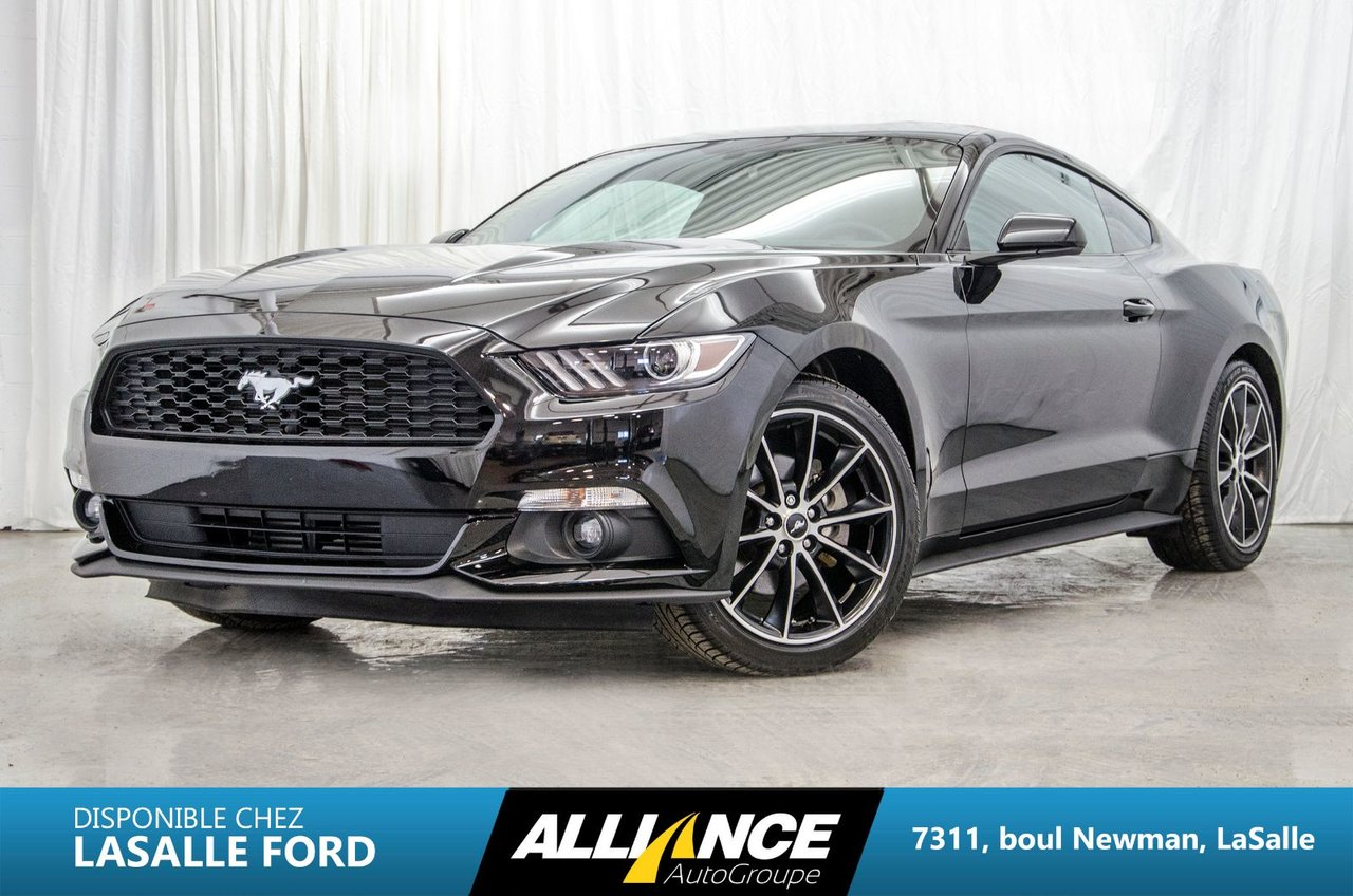 ford mustang 2017 d 39 occasion vendre chez lasalle ford inc. Black Bedroom Furniture Sets. Home Design Ideas