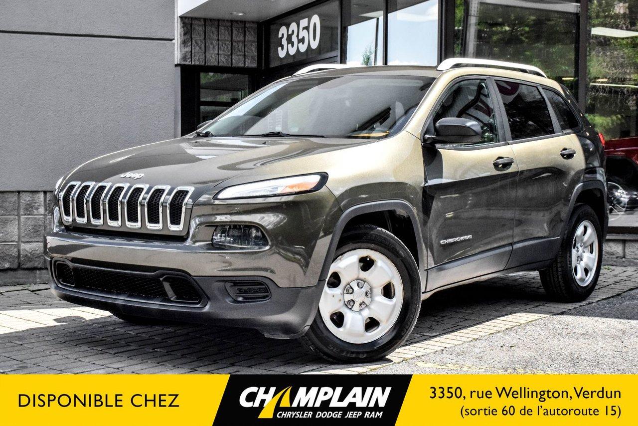 2014 Jeep  Cherokee SPORT | SIÈGES ET VOLANT CHAUFF | BLUETOOTH |