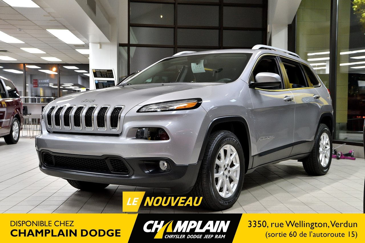 2018 Jeep  Cherokee North | 4X4 | SIEGES ET VOLANT CHAUFF | BLUET