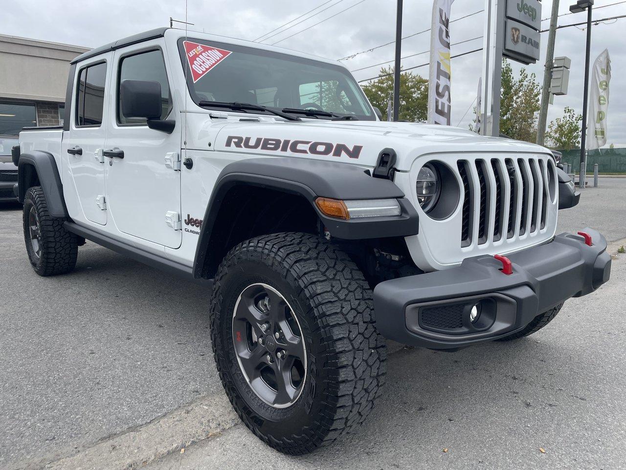 Jeep Gladiator 2020 Rubicon - Cuir - Ens. Temps froid - DEL - GPS