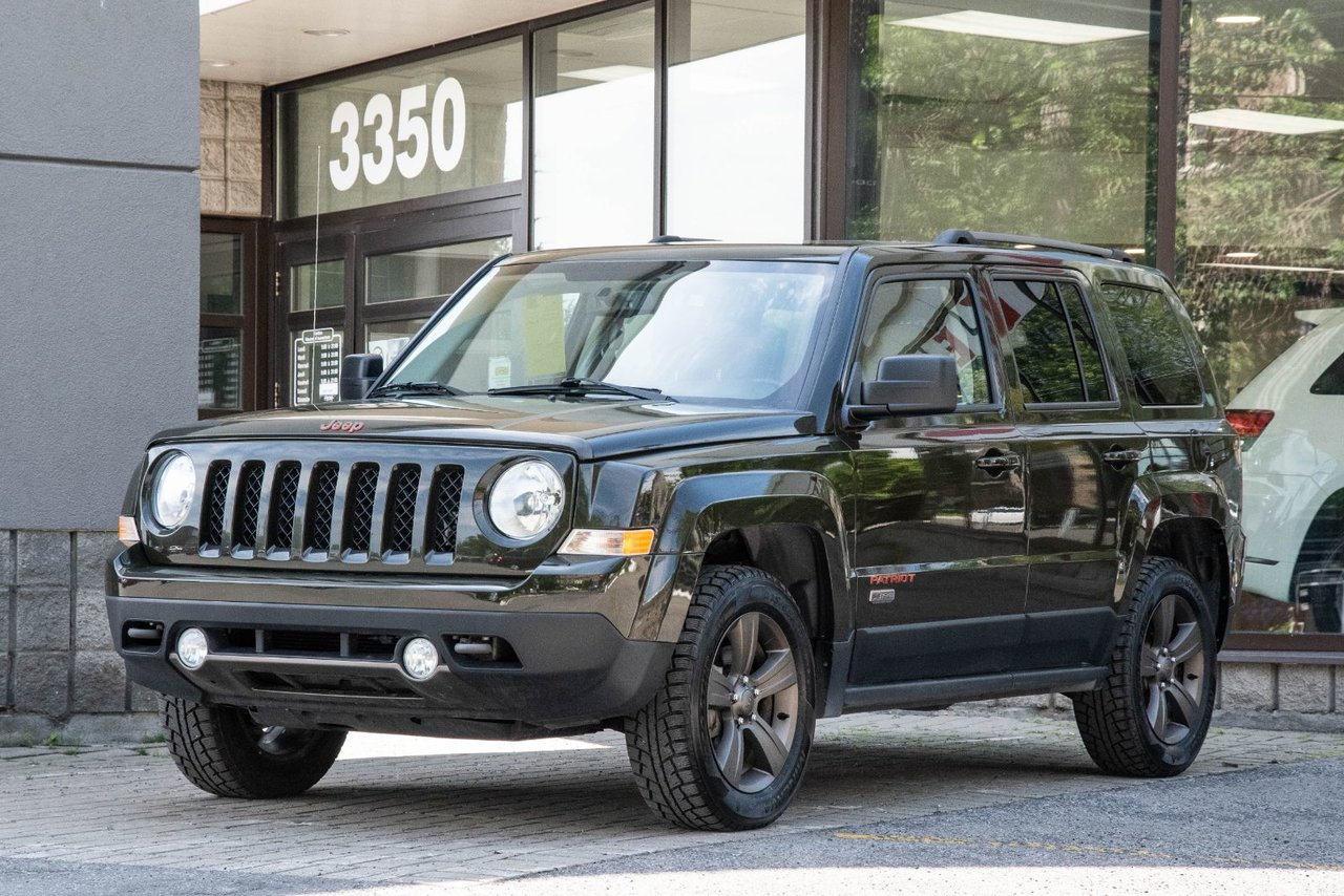 2016 Jeep  PATRIOT NORTH NORTH | 4X4 | CUIR | TOIT | SIEGES CHAUFFANTS
