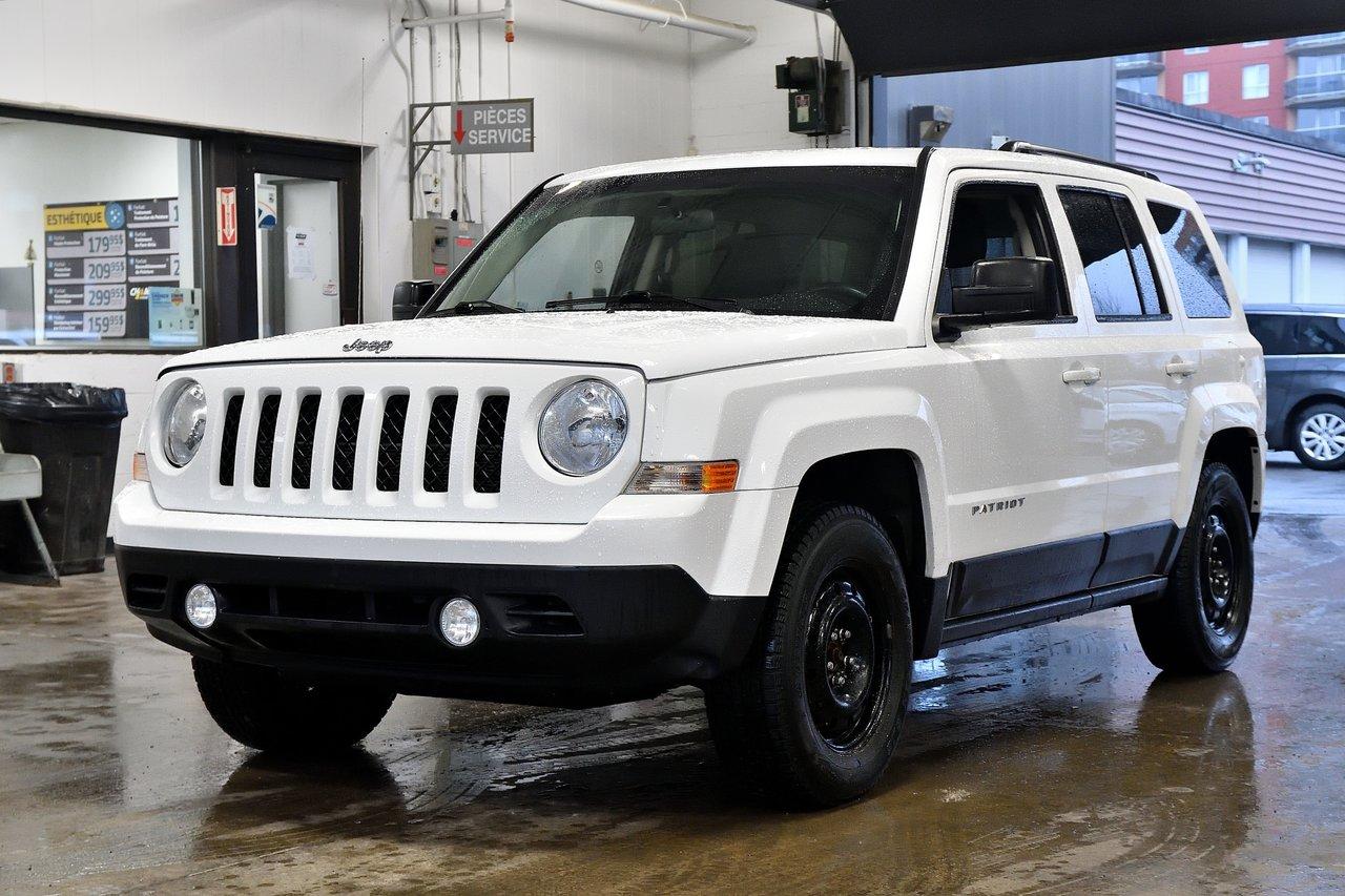 2014 Jeep  Patriot NORTH | 4X4 | SIEGES CHAUFF | A/C |