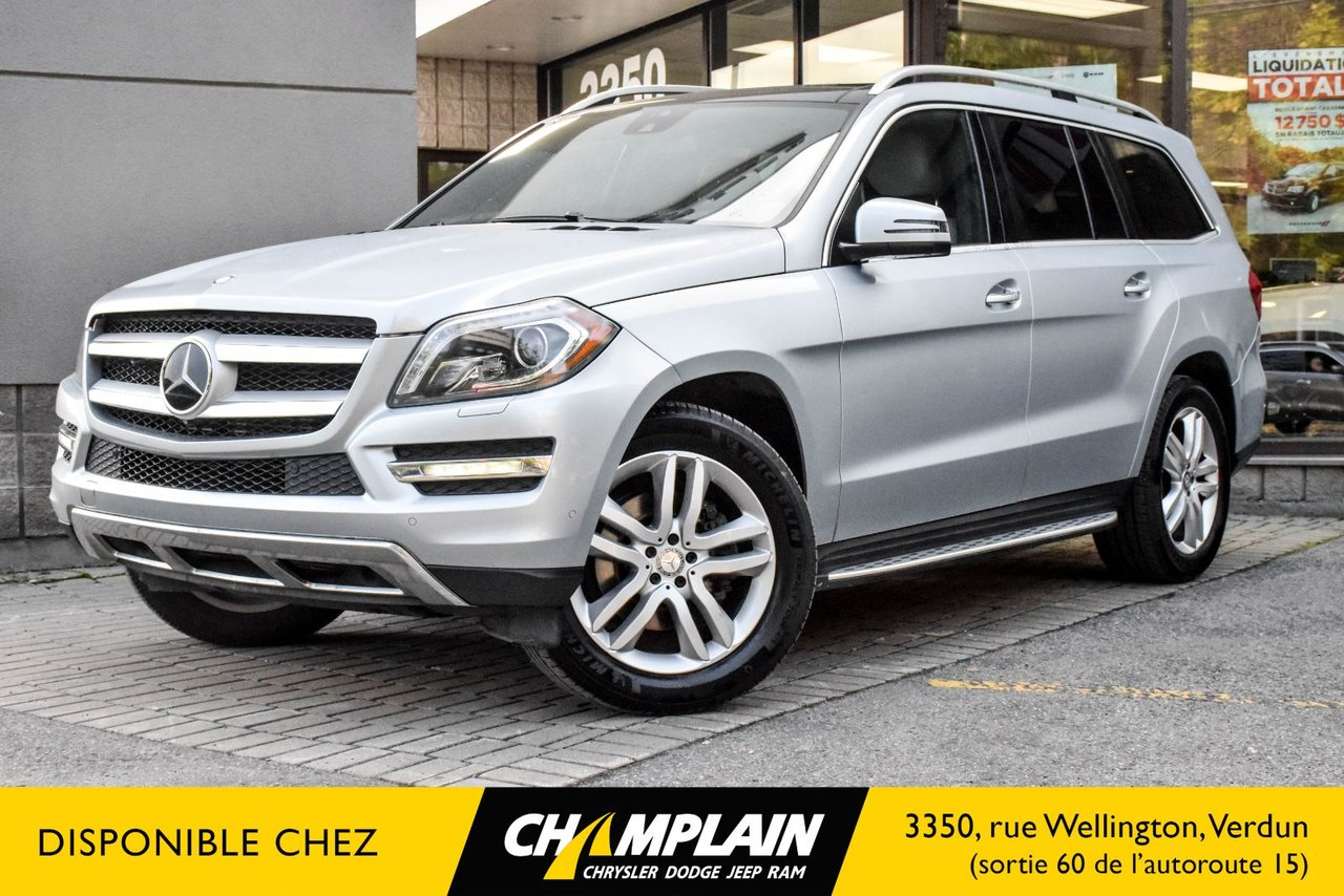 2014 Mercedes-Benz  GL-Class GL 350 BLUETEC / DIESEL / 7 PLACES /