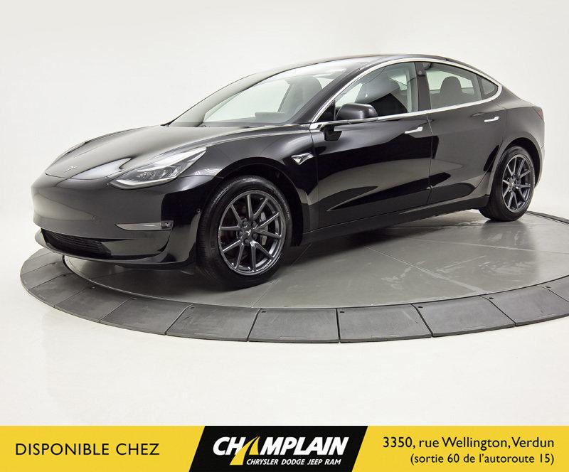 2018 Tesla  MODEL 3 LONG RANGE BATTERY   Autonom. 500 Km   Cuir