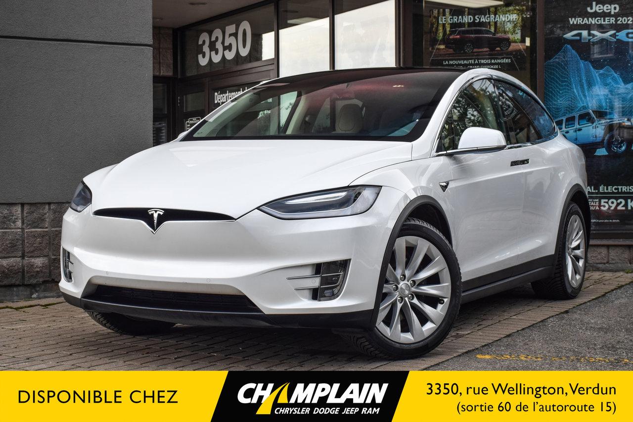 Tesla Model X 2016 90D   AWD   Long Range   TRÈS BAS KM!!!