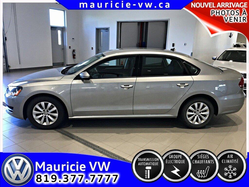 2012 Volkswagen  Passat 2.5L TRENDLINE PLUS / UNE SEULE PROPRIÉTAIRE