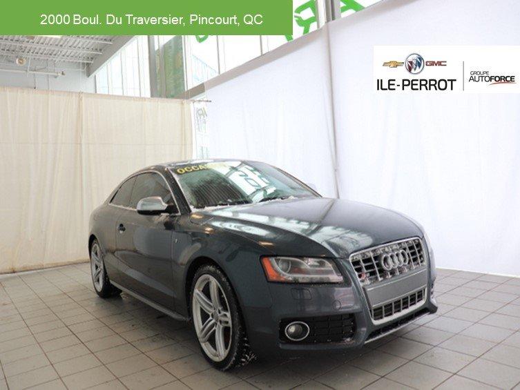 2010 Audi  S5 QUATRO,CUIR,TOIT OUVRANT,MANUELLE