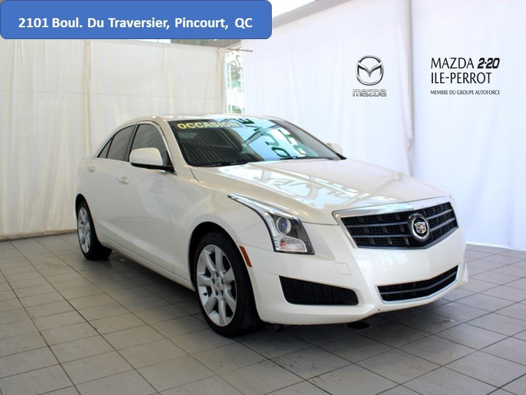 2014 Cadillac  ATS AWD 2.0T LUXE CUIR TOIT OUVRANT