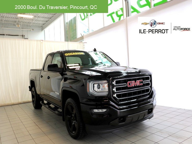 2019 Gmc  Sierra 1500 ELEVATION,TONNEAU COVER,DÉMARREUR A DISTANCE
