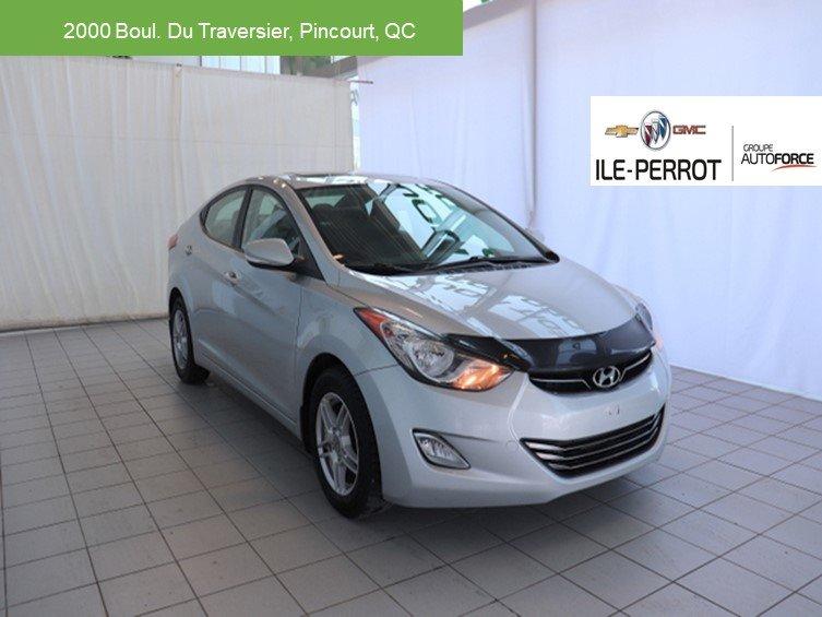 2011 Hyundai  Elantra Limited,CUIR,TOIT OUVRANT,SIÈGES CHAUFFANT