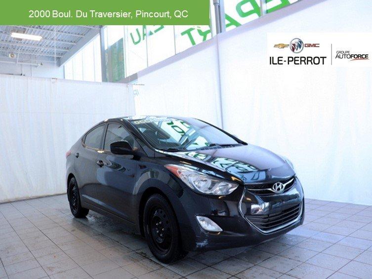 2012 Hyundai  Elantra GLS,TOIT OUVRANT,BLUETOOTH,SIÈGES CHAUFFANT