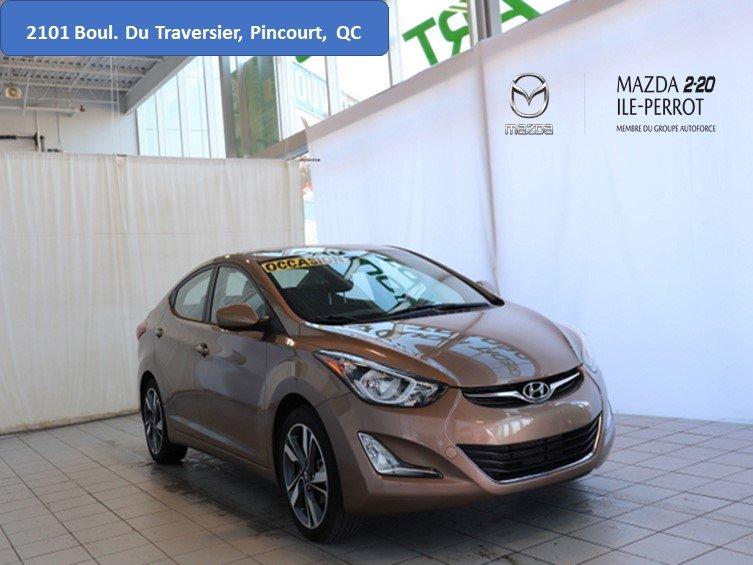 2016 Hyundai  Elantra SPORT GLS BAS KILOS TOIT OUVRANT CAM RECUL US