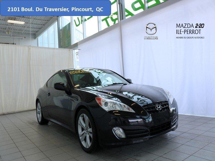 2011 Hyundai  Genesis Coupe GT Premium CUIR 1 PROPRIÉTAIRE TRÈS BAS KILOS
