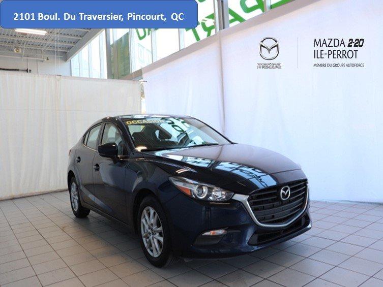 2017 Mazda  Mazda3 GS CAM RECUL BANCS/VOLANT CHAUFFANTS BLUETOOT