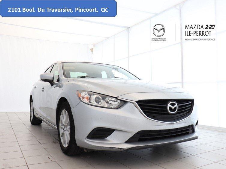 Mazda Mazda6 2017 GS 6SPD CAM RECUL A/C BLUETOOTH BANCS CHAUFFA