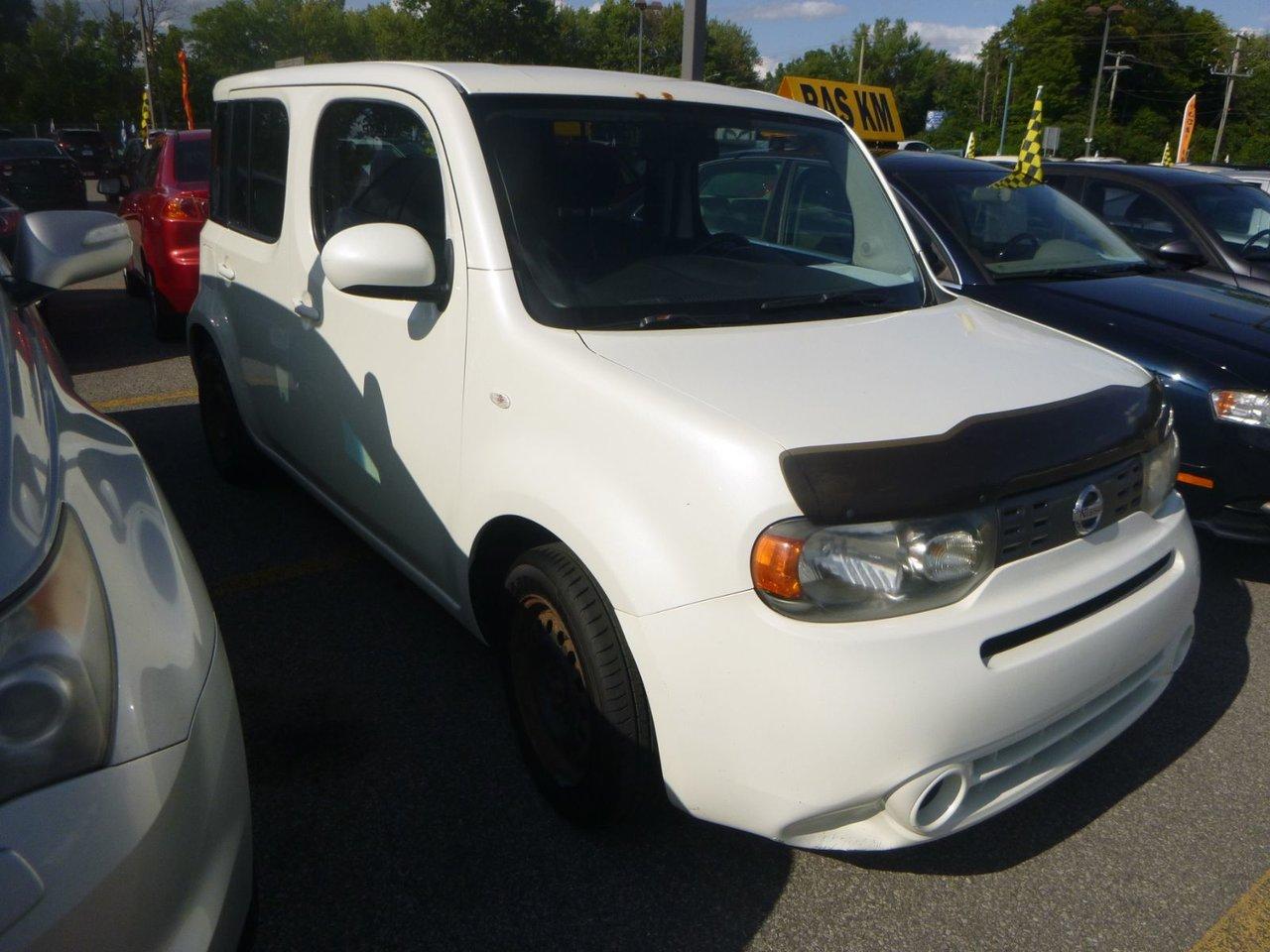 2010 Nissan  Cube AUT AC TOUTE EQUIPE FAUT VOIR