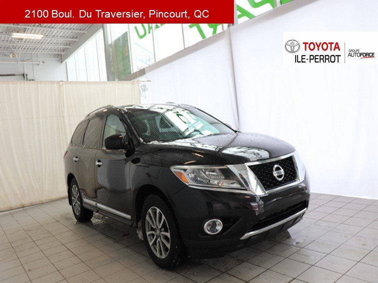 2014 Nissan  Pathfinder SL, A/C, CUIR, NAVI, PUSH START, BLUETOOTH+++