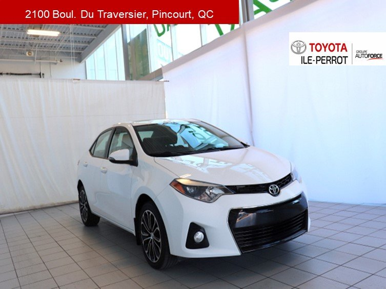 2015 Toyota  Corolla S UPGRADE, A/C, TOIT OUVR, MAGS, BLUETOOTH+++