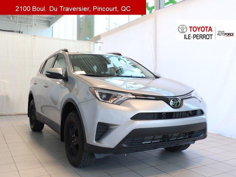 Toyota RAV4 2018 LE, FWD, A/C, GR ELEC,TSS-P, CAM RECUL, BLUET
