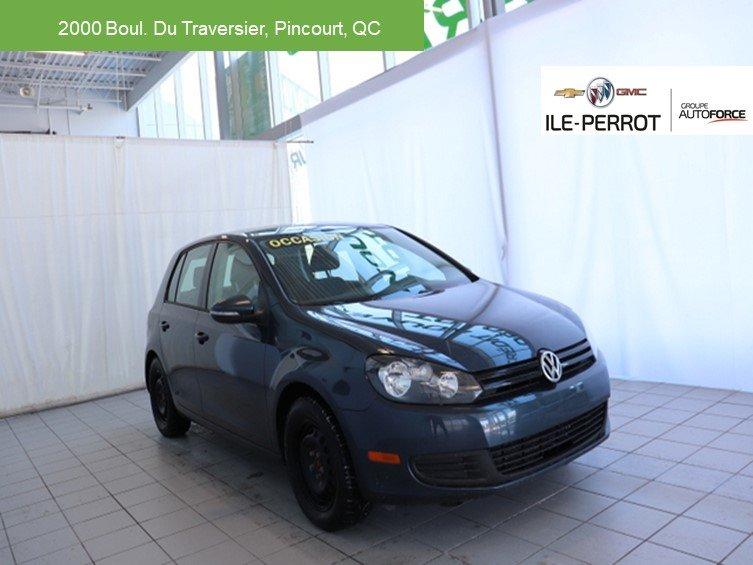 2013 Volkswagen  Golf TRENDLINE,SIÈGES CHAUFFANT