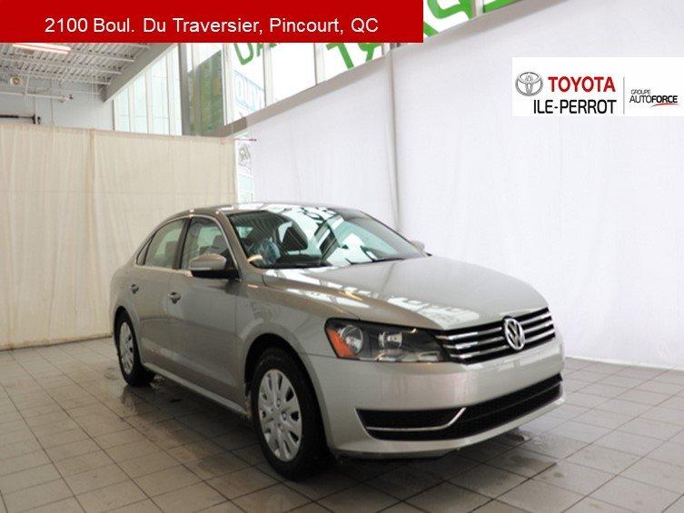 2014 Volkswagen  Passat TRENDLINE, A/C, GR ELEC, CRUISE, BLUETOOTH
