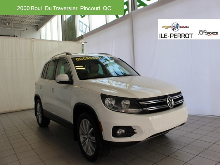 2012 Volkswagen  Tiguan HIGHLINE,TOIT OUVRANT PANO.CUIR