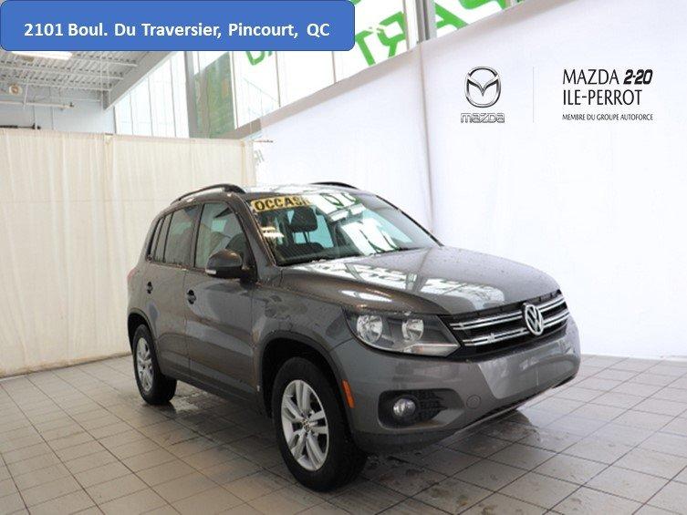 2014 Volkswagen  Tiguan COMFORTLINE AWD AUTOMATIQUE AC MAGS BIEN EQUI
