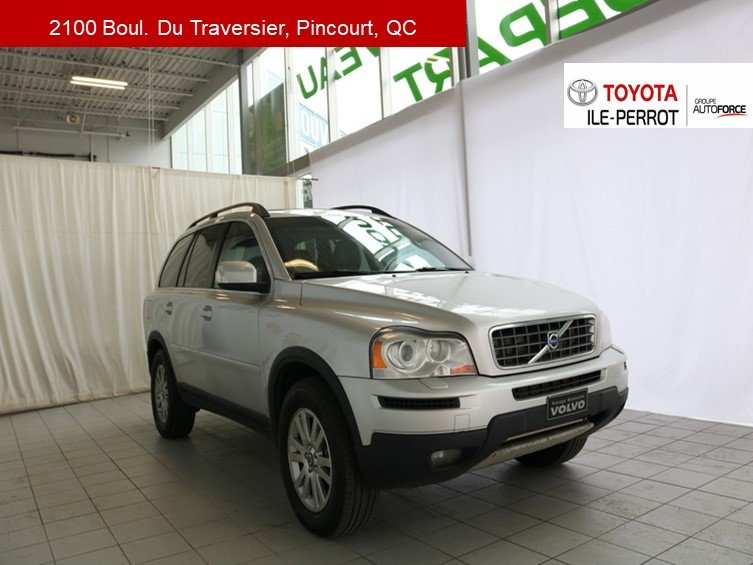2008 Volvo  XC90 AWD, 7 PASS, A/C, CUIR, TOIT OUVR, CRUISE