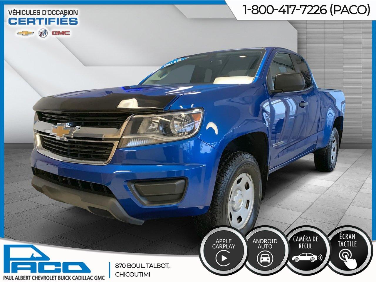 Chevrolet Colorado 2019 DOUBLE CAB WT