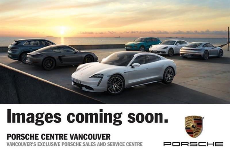 2016 Porsche 911 Carrera Black Edition Convertible RWD