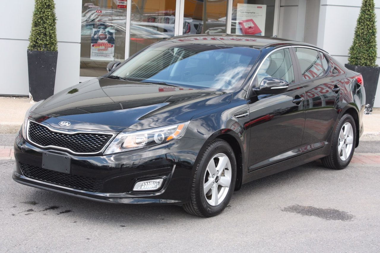 kia optima lx auto met paint 2015 d 39 occasion vendre chez chambly kia. Black Bedroom Furniture Sets. Home Design Ideas