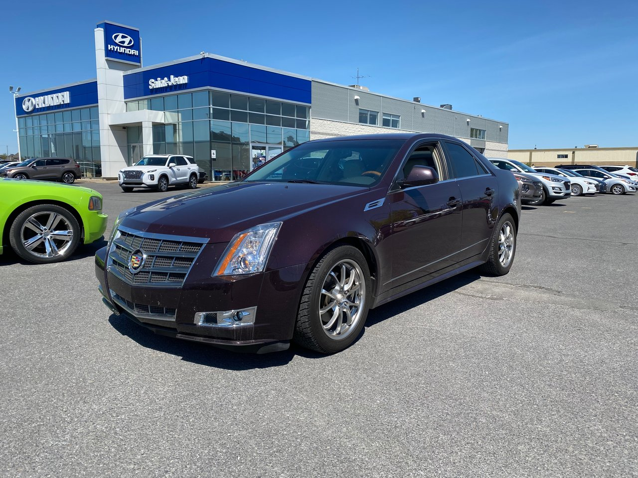 2010 Cadillac  CTS UN SEUL PROPRIO / COMME NEUF