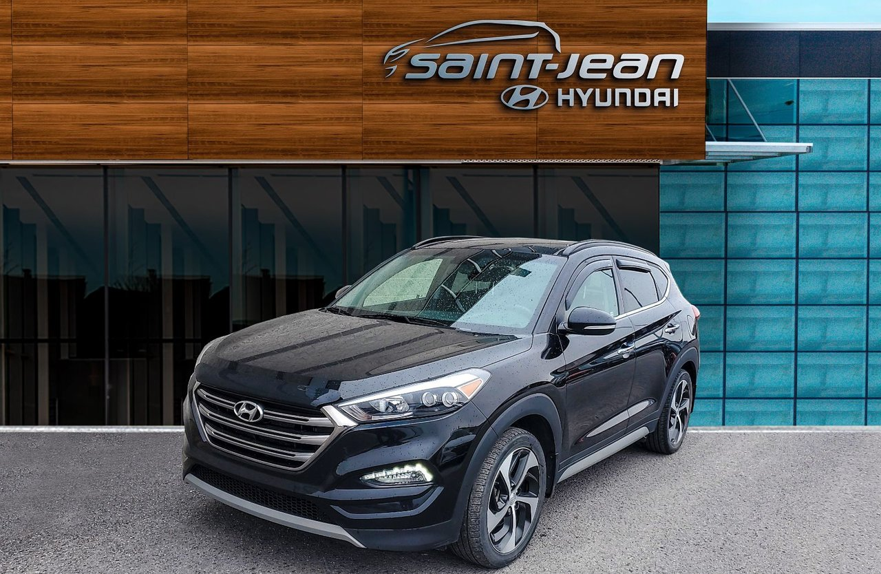 2017 Hyundai  Tucson Limited 1.6T / TOIT PANO + CUIR + MAGS 19''