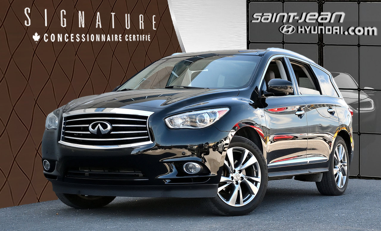 2014 Infiniti  QX60 Deluxe Touring Package Mag 20p Navigation