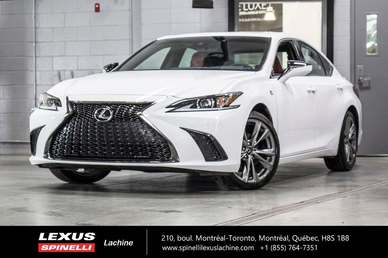 2019 Lexus  ES F SPORT I AWD; CUIR TOIT ANGLES MORT CARPLAY