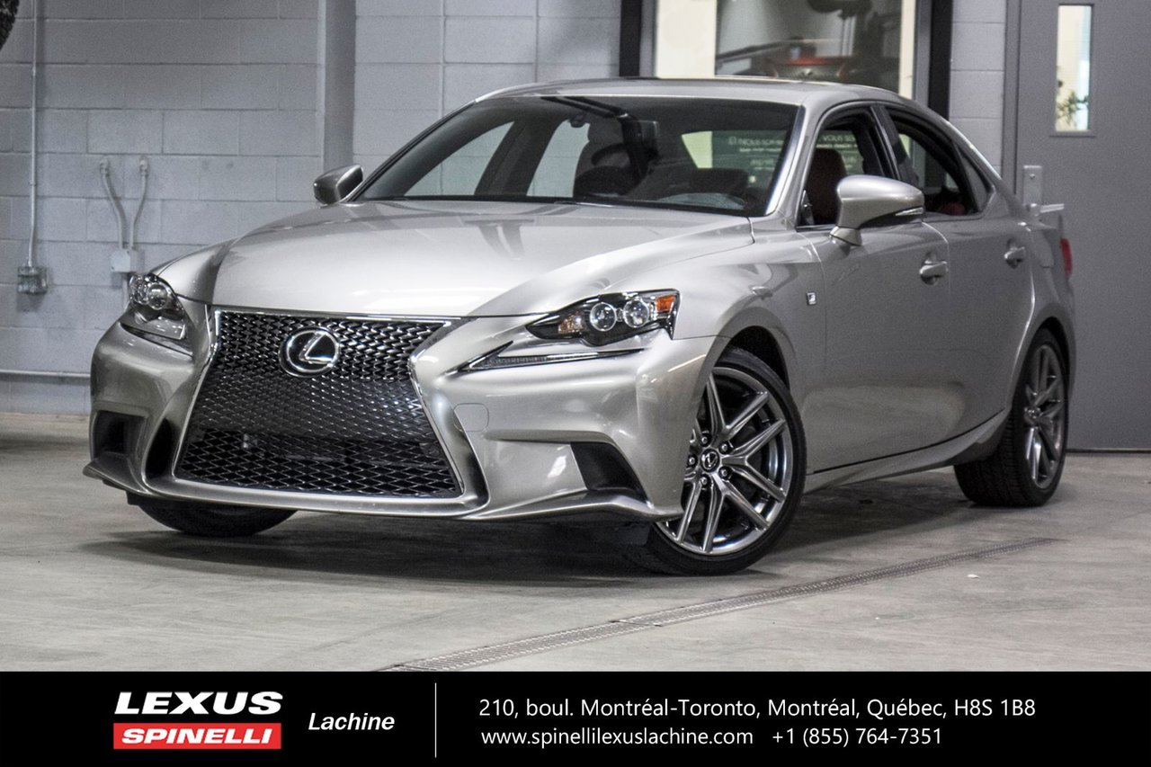 2016 Lexus  IS 350 F SPORT II AWD; **RESERVE / ON-HOLD**