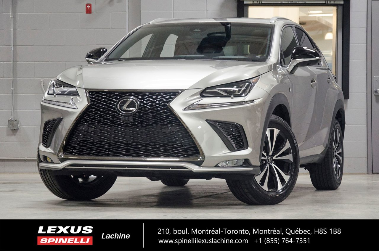 lexus nx 2018 d 39 occasion vendre chez spinelli lexus lachine. Black Bedroom Furniture Sets. Home Design Ideas