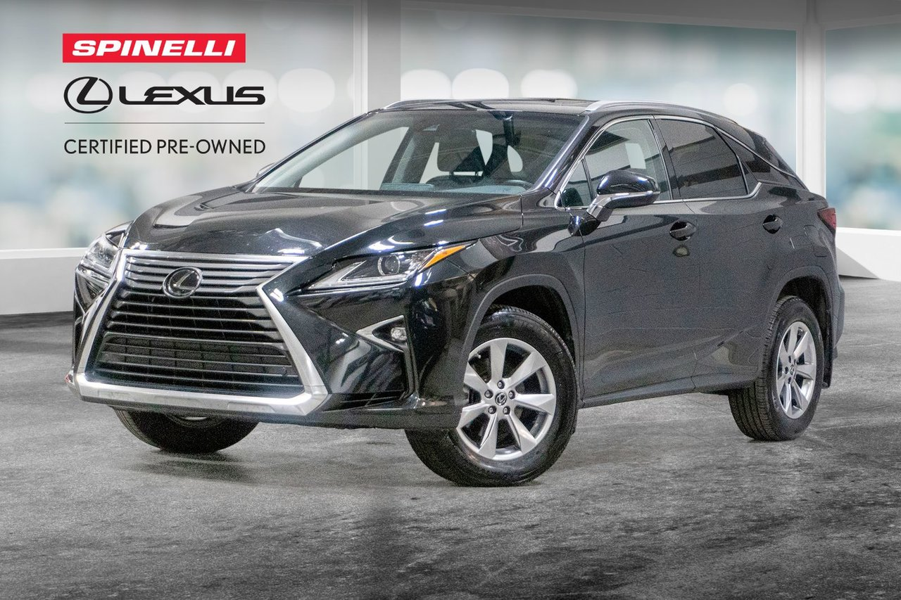 Lexus RX 2019 PREMIUM AWD; CUIR TOIT CAMERA ANGLES MORT LSS