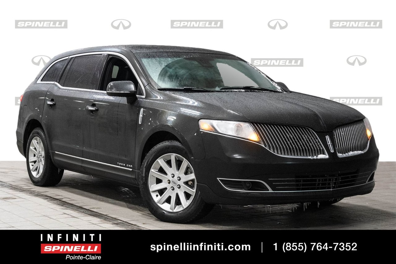 2014 Lincoln  MKT EX LIMO / TOIT / CAMERA / GPS / SIEGES CHAUFF
