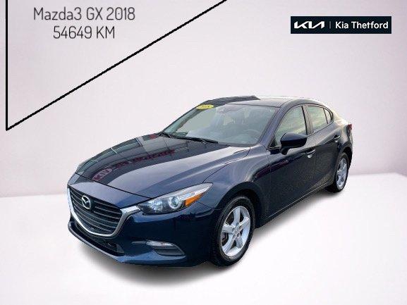 Mazda Mazda3 2018 GX AUTOMATIQUE DEMARRAGE BOUTON POUSSOIR CAME