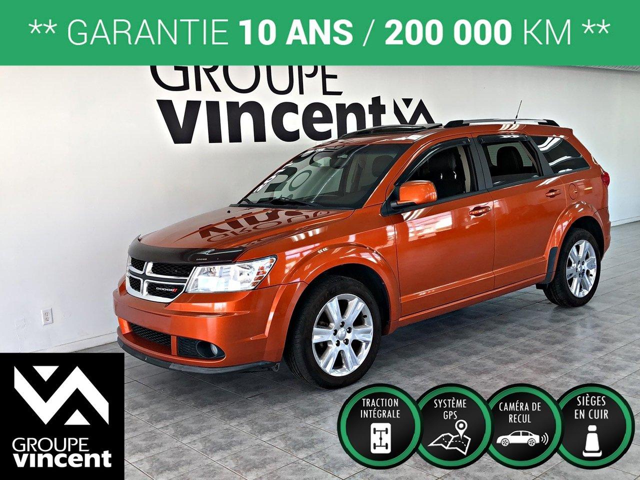 2011 Dodge Journey R/T V6 AWD ** GARANTIE 10 ANS **