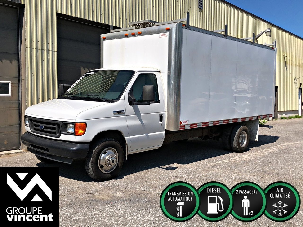 2006 Ford  Econoline cutaway E450 SUPER DUTY DIESEL **CUBE 16 PIEDS**