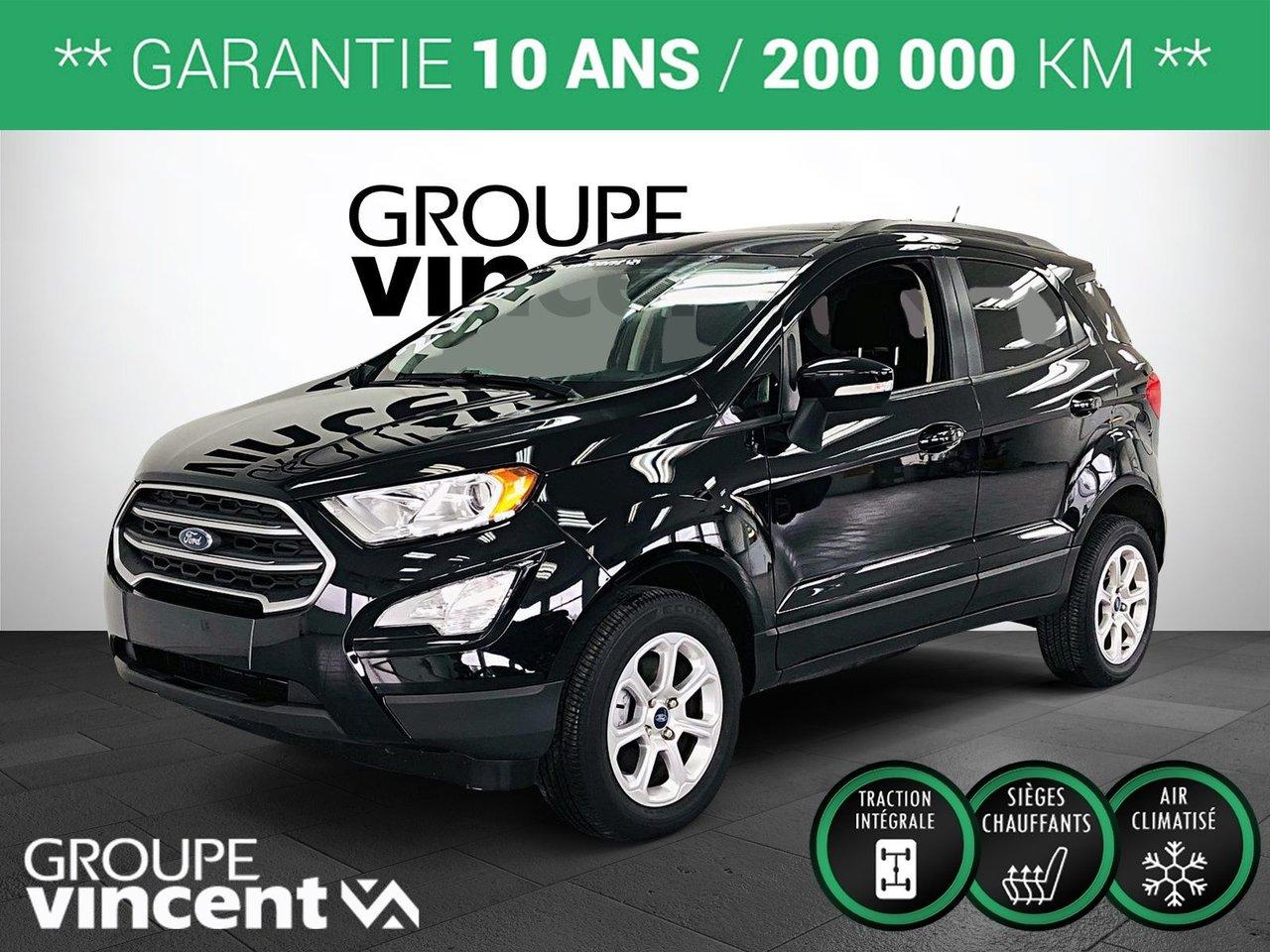 Ford EcoSport 2019 SE AWD ** GARANTIE 10 ANS **