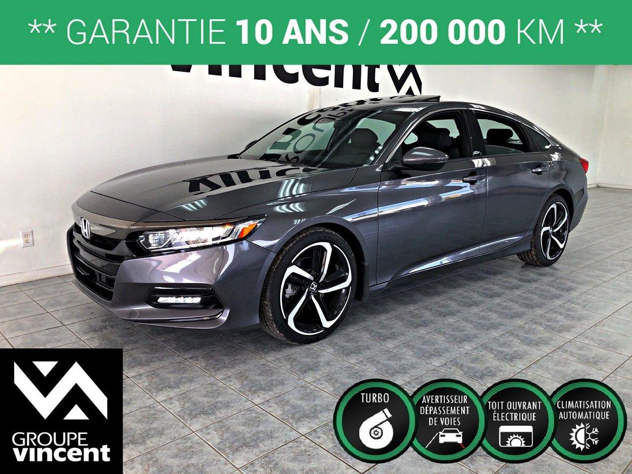 2019 Honda Accord Sport 2.0 ** GARANTIE 10 ANS **