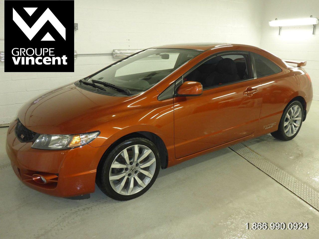 Honda Civic 2010 SI COUPE CRUISE AIR Garanti 10 ans / 200 000 KM