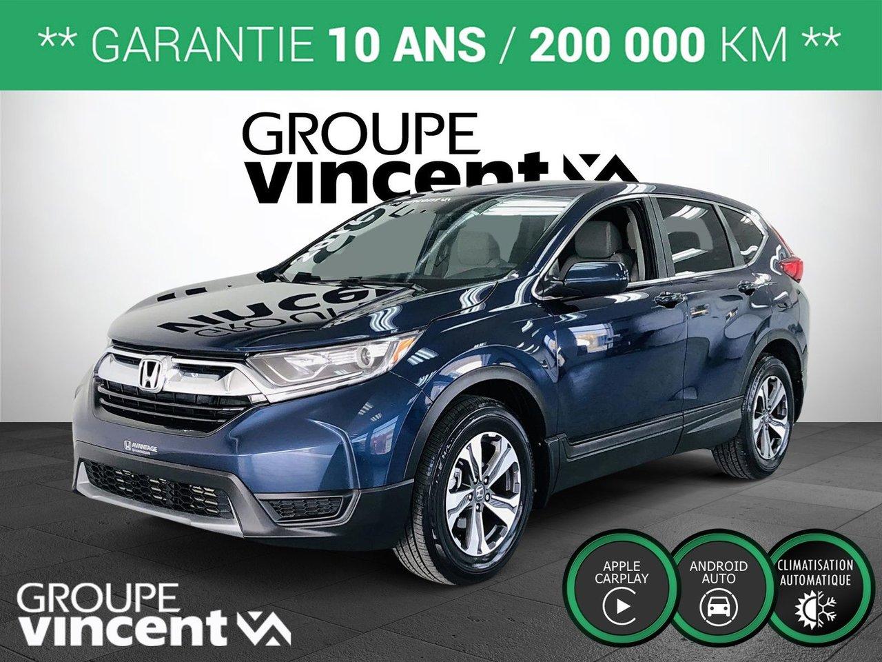 Honda CR-V 2017 LX ** GARANTIE 10 ANS **