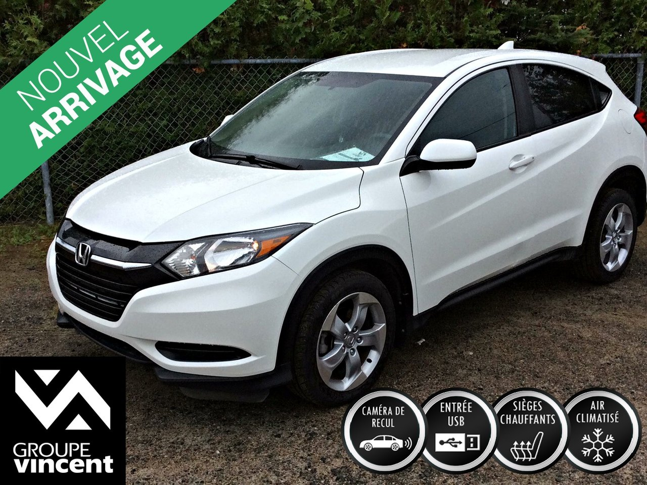 2016 Honda  HR-V LX AWD **GARANTIE 10 ANS**