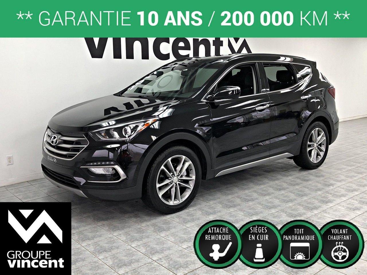 2017 Hyundai  Santa Fe SPORT SE 2.0T AWD ** GARANTIE 10 ANS **