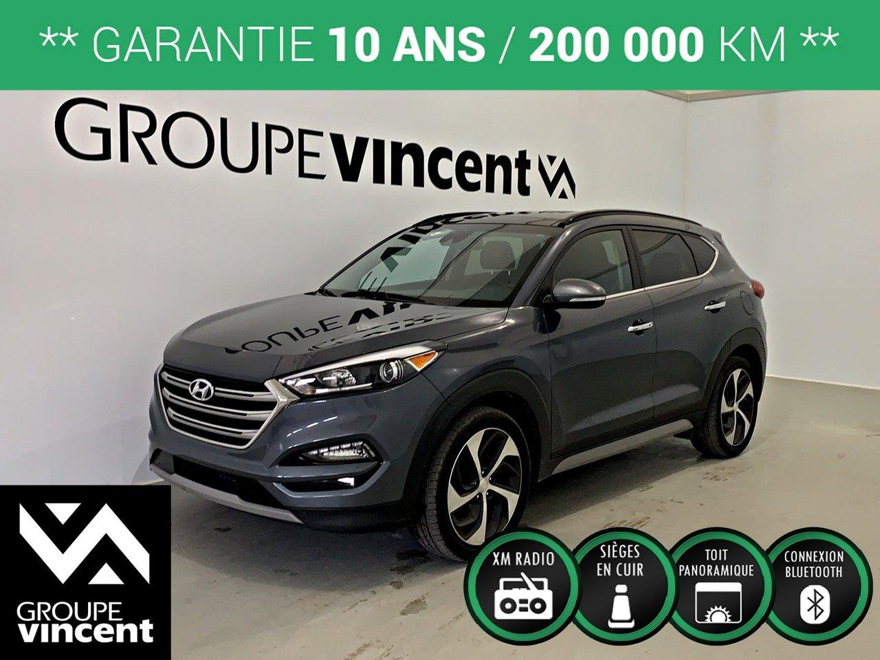 2017 Hyundai  Tucson ULTIMATE AWD GPS CUIR TOIT ** GARANTIE 10 ANS