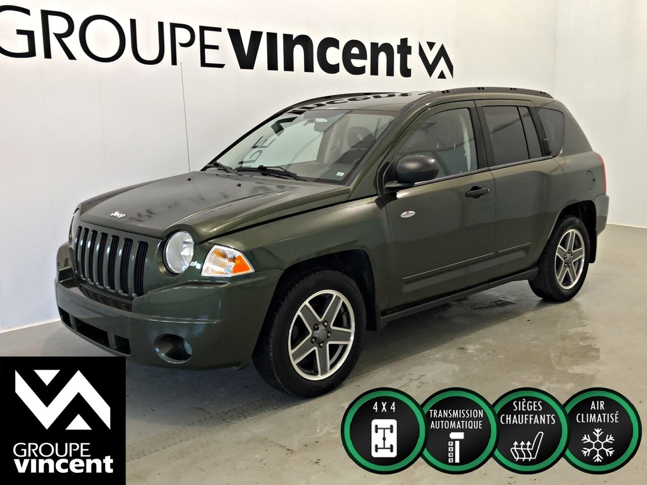 2009 Jeep  Compass ** NORTH ÉDITION 4X4 **